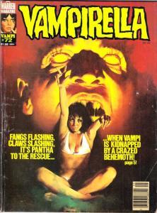 Vampirella Magazine #72 (Sep-78) VG+ Affordable-Grade