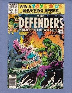Defenders #88 FN Hulk Marvel 1980