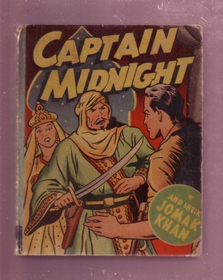 CAPTAIN MIDNIGHT 1946- AND SHEIK JOMAK KHAN #1402-BLB VG