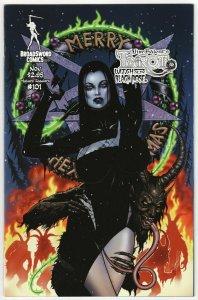 Tarot Witch Of The Black Rose #101 Cvr A (Broadsword, 2016) NM