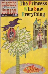 Classics Illustrated Junior #576 (Mar-67) VG Affordable-Grade Princess