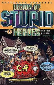 Legion of Stupid Heroes #3 VF/NM; Alternate Concepts | save on shipping - detail