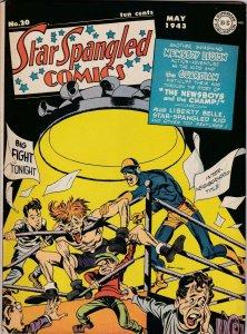 Star Spangled Comics 20  FN-/FN Liberty Bell Begins (May 1943)