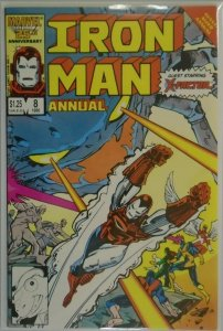Iron Man ANN #8 DIR - 6.0 FN - 1986