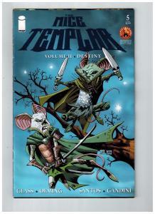 The Mice Templar # 5 VF Volume 2 Destiny Glass Oeming Series Image Comics S75