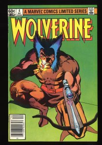 Wolverine (1982) #4 VF 8.0 Limited Series