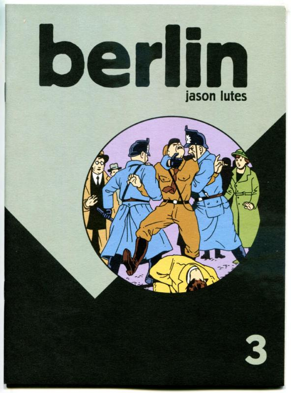 BERLIN #3, NM, Jason Lutes, Black Eye, 1996, more indies in store