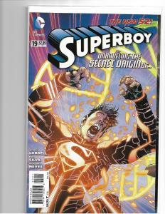 SUPERBOY #19 - NM - 1st appearance & origin JON KENT - NEW 52 - MODERN AGE KEY