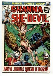 Shanna The She-Devil #1 Marvel 1972 comic book VF