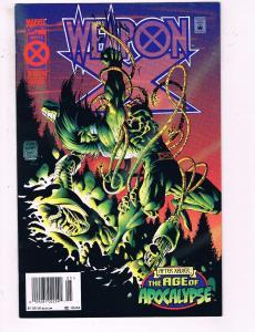 Weapon X #3 VF Marvel Comics Age Of Apocalypse X-Men Deluxe Comic Book 1995 DE16