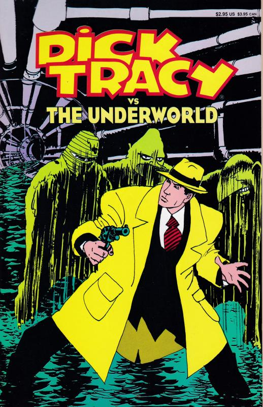Dick Tracy VS The Underworld Book 2 1990 Walt Disney  Publishing