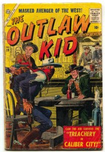 Outlaw Kid #19 1957- Severin cover- Atlas Western G