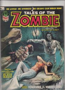 Tales of the Zombie Magazine #3 (Jan-74) VF/NM High-Grade