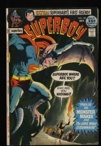 Superboy #178 VF 8.0 DC Comics Superman Neal Adams Cover!