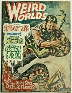 WEIRD WORLDS#10 VG 1969 (VOLUME 1) EERIE PUBLICATION SILVER AGE COMICS