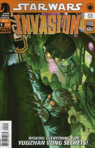 Star Wars: Invasion #5 FN; Dark Horse | save on shipping - details inside