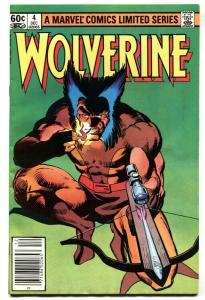 Wolverine Limited Series #4   Marvel comic book 1982 VF