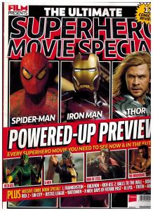 The Ultimate Superhero Movie Special Film Presents Magazine Future Spring 13 S87