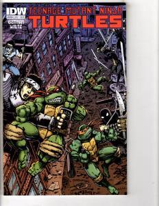 Teenage Mutant Ninja Turtles Annual 2012 IDW Comic Book Rafael Donatello J209