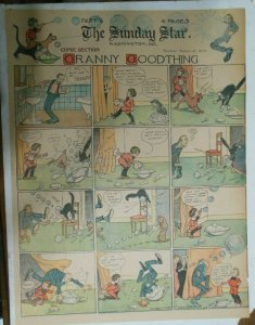 Granny Goodthing Sunday Page by Follett  from 3/6/1910 Full Page Size!