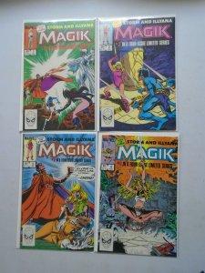 Magik set #1-4 Direct editions 6.0 FN (1983)