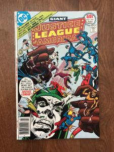 Justice League of America #144  (DC Comics; July, 1977) - Giant issue - Fine+/VF
