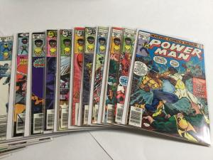Power Man And Iron Fist 49-57 60 62-69 71-74 76 77 80-96 98 100 Marvel A34