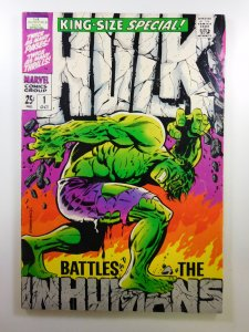 The Incredible Hulk Annual #1 (1968) VG/FN