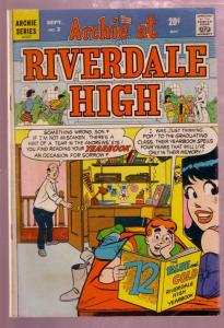 ARCHIE AT RIVERDALE HIGH #2 1972 BETTY AND VERONICA-very good VG