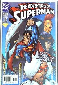 Adventures of Superman #587 (2001)