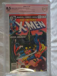 X-Men #115 - CBCS 8.5 - Double Cover - Signed Claremont/Austin