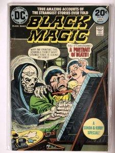 BLACK MAGIC (1973) 2 VG Jan. 1974 Simon&Kirby  repr COMICS BOOK