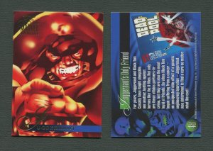 1995 Flair Marvel Annual Card #48 (Juggernaught)  MINT (A)