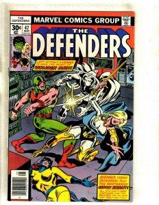 Defenders # 47 VF/NM Marvel Comic Book Moon Knight Wonder Man Hulk Thor HJ9