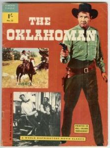 OKLAHOMAN, THE 32 ( BRITISH) VG- WORLD DISTRIBUTORS MOV COMICS BOOK