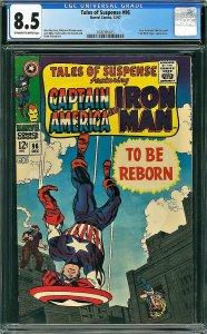 Tales of Suspense #96 (Marvel, 1967) CGC 8.5