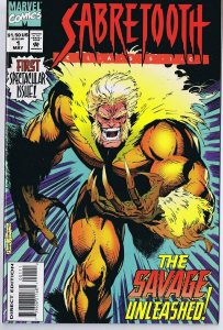 Sabretooth Classics #1 ORIGINAL Vintage 1994 Marvel Comics