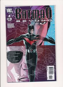 BATMAN BEYOND #4 ~ DC Comics 2011 ~ NM (HX538)