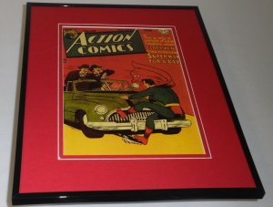 Action Comics #119 Framed 11x14 Repro Cover Display Superman for a Day