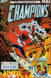 Hero Comics CHAMPIONS (1987 Series) #4 FN