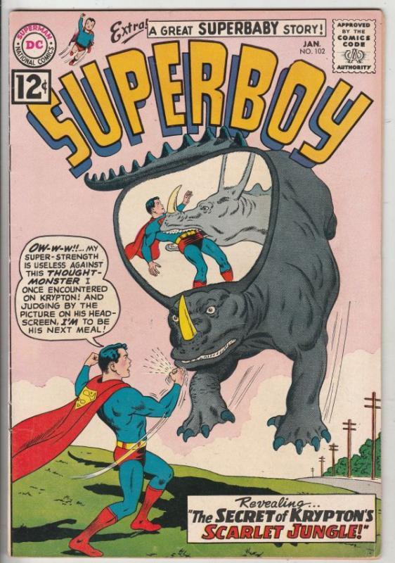 Superboy #102 (Jan-63) VF/NM High-Grade Superboy