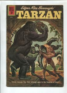 TARZAN #129 1962-DELL-EDGAR RICE BURROUGHS-VG