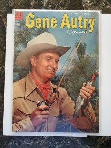 Gene Autry #76 (Dell,1953) Condition G/VG