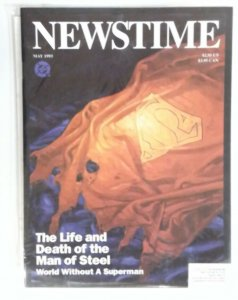 NEWSTIME Magazine-Life & Death of Man of Steel SUPERMAN Special May 1993 Comic
