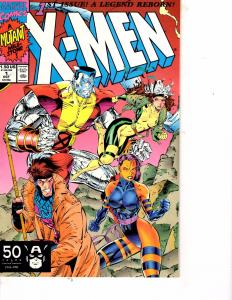 Lot Of 2 Marvel Comic Books X-men #1 and X-Men #2 Ironman Thor  ON3