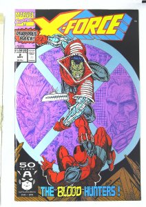 X-Force (1991 series) #2, NM- (Actual scan)