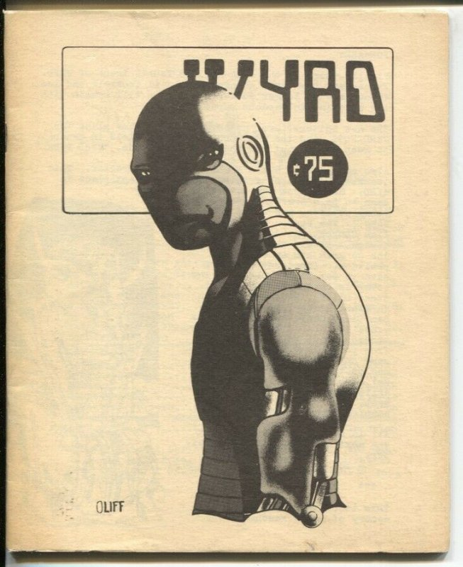 Wyrd #4 1975-Steve Oliff cover art-comic style art & fiction-FN