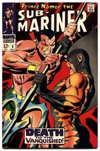 Sub-mariner #6 1968-marvel Comic-john buscema- NM