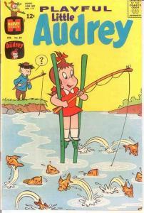 PLAYFUL LITTLE AUDREY (1957-1976) 80 VF-NM  Feb. 1969 COMICS BOOK