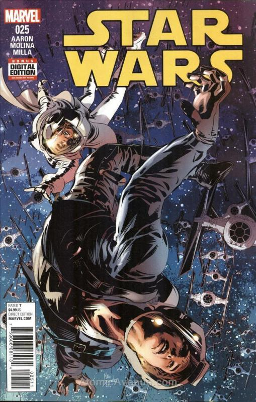 Star Wars (2nd Series) #25 VF/NM; Marvel | save on shipping - details inside